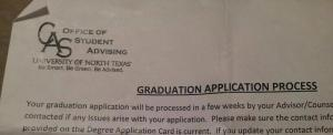 Next Step...Cap & Gown.